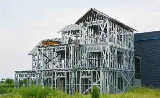 轻钢别墅——新农村建设首选住宅